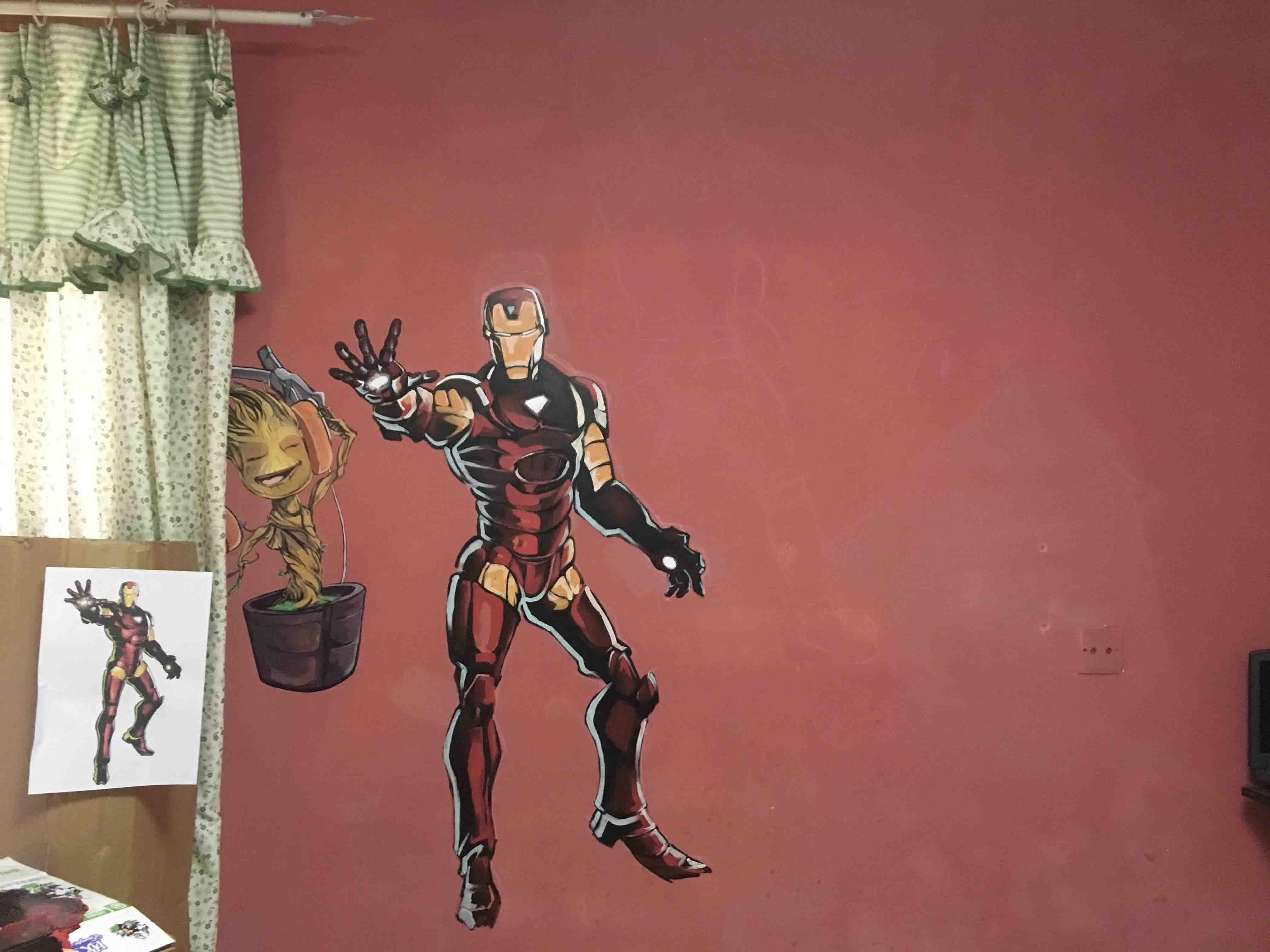 具有创意的手绘墙画设计推荐,各类手绘墙画