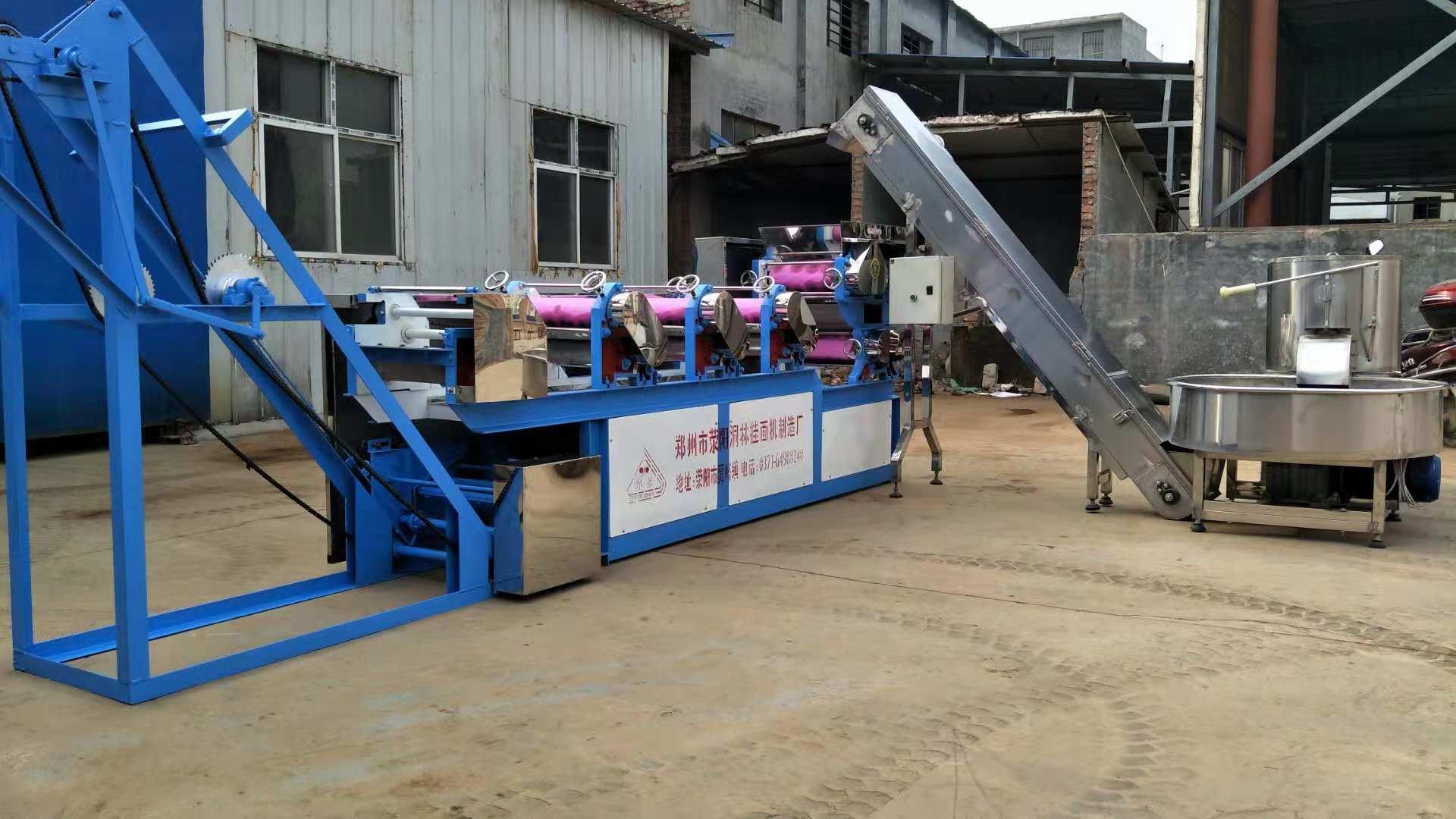 河北自动面条生产线厂家-想买MT6-350型自动面条生产线上洞霖机械