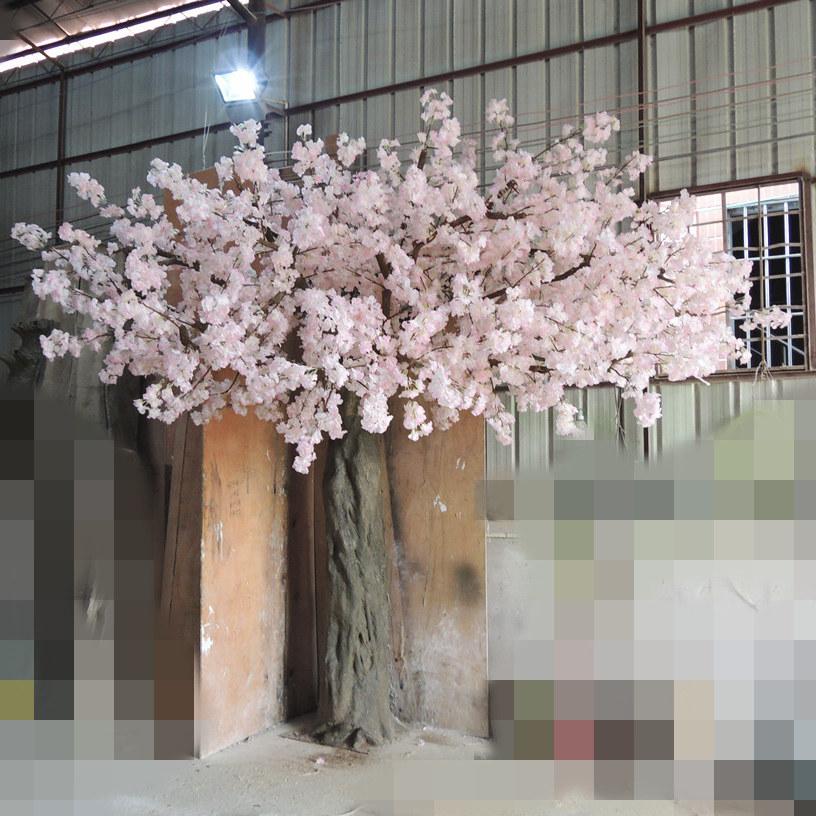 實木桿仿真櫻花樹價格_供應廣州銷量好的仿真櫻花樹