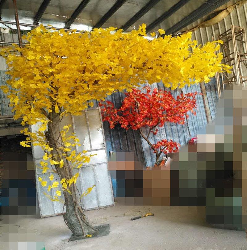 仿真植物廠家-廣州優惠的仿真銀杏樹上哪買
