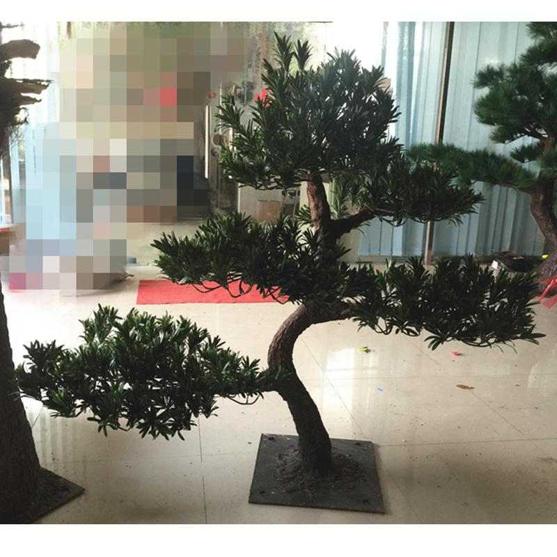 广州优良仿真松树供应出售 三门峡仿真迎客松