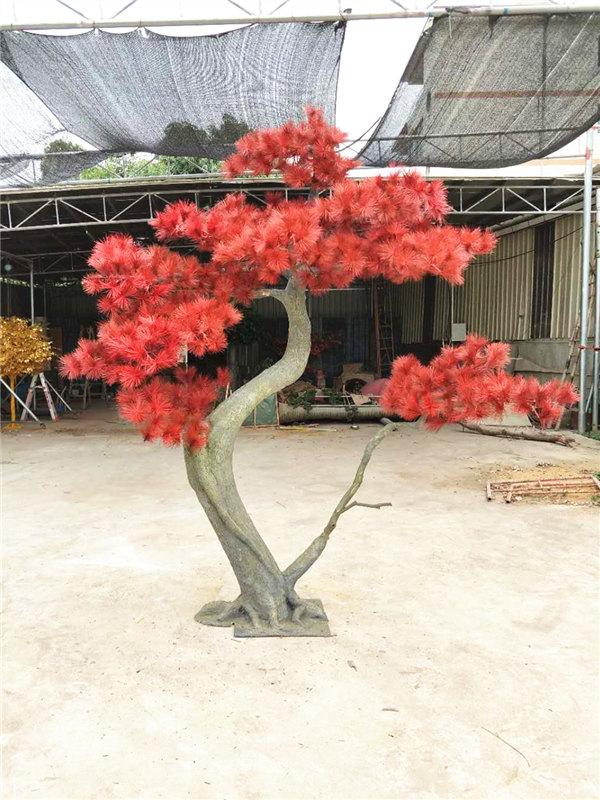 绍兴仿真迎客松-买品质轶群的仿真松树,就到广州市盛庭