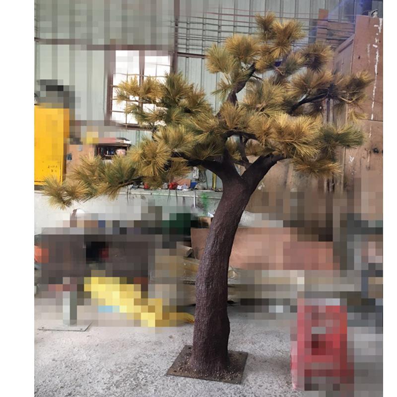 什么是仿真迎客松 哪儿能买到制作精巧的仿真松树
