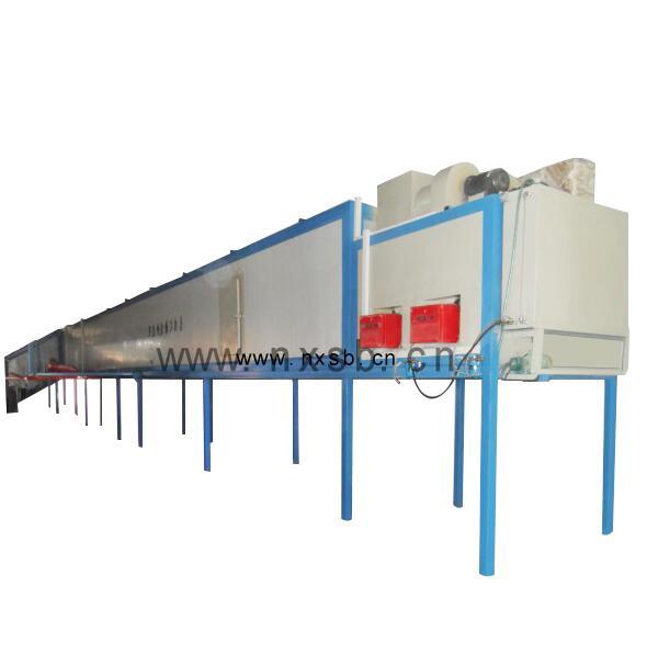 自动喷塑烘道线代理商-规模大的地链式自动喷塑烘道流水线生产厂