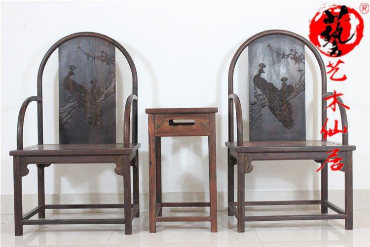 口碑好的红木圈椅三件套|哪里可以买到高质量的红木圈椅三件套