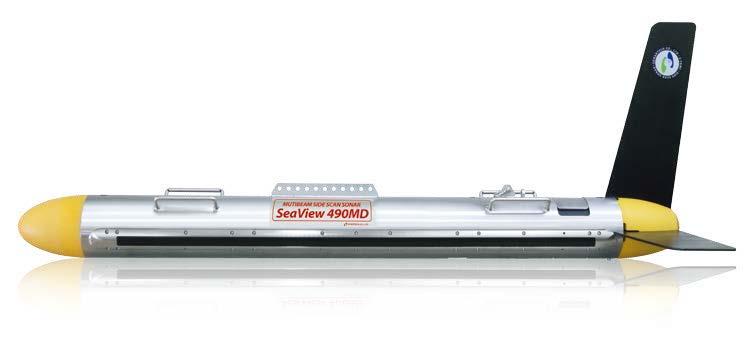 SeaView400多波束侧扫声呐
