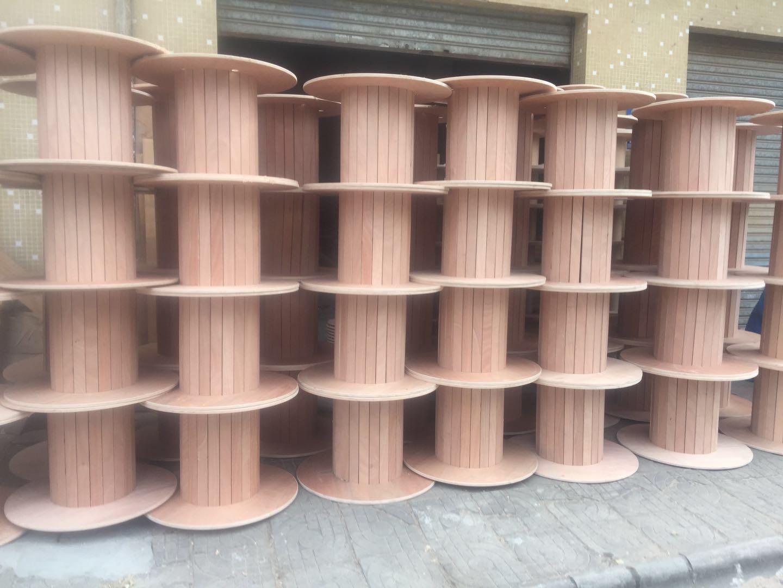 江门木线盘厂家,想买品质好的带附盘胶合板木盘就到畅通线轴