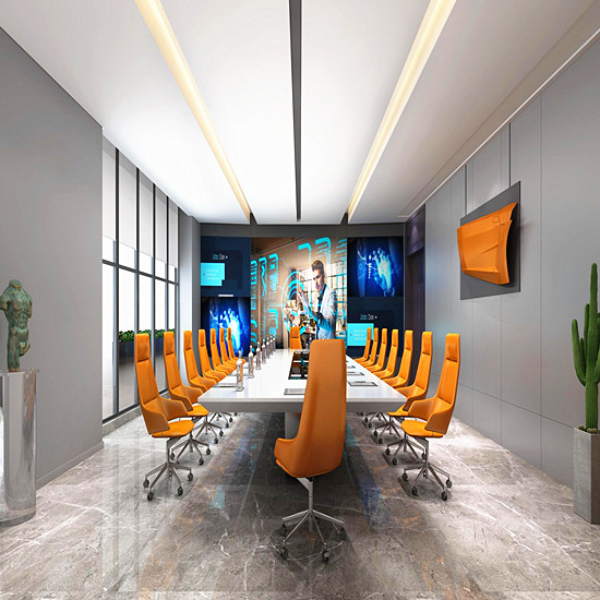 河南郑州办公室装修中风水画应该如何布局 郑州写字楼装修公司