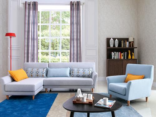 米兰布艺沙发-供应西安好用的布艺沙发