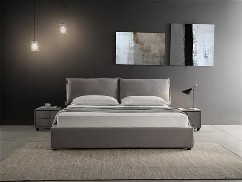 米蘭布藝軟床定做-供應西安劃算的布藝軟床