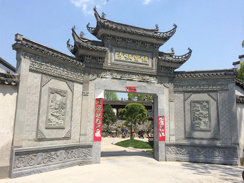 广东门楼优惠-买专业的门楼-就来徽艺砖雕