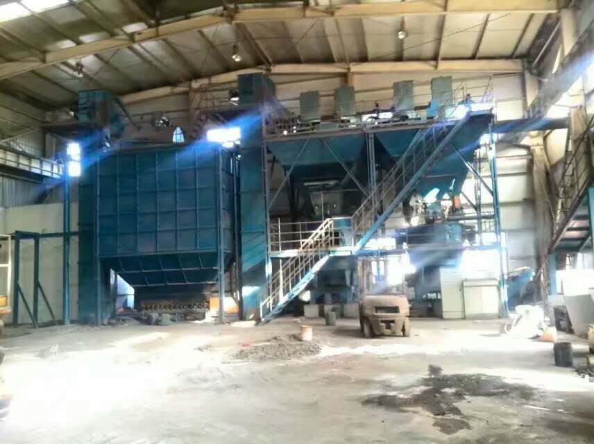 樹脂砂再生線專賣店-青島鑄工供應廠家直銷的樹脂砂再生線