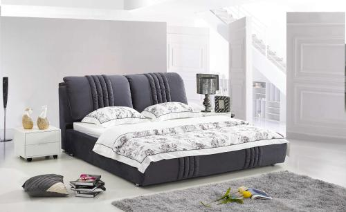 布艺床-供应西安报价合理的布艺床