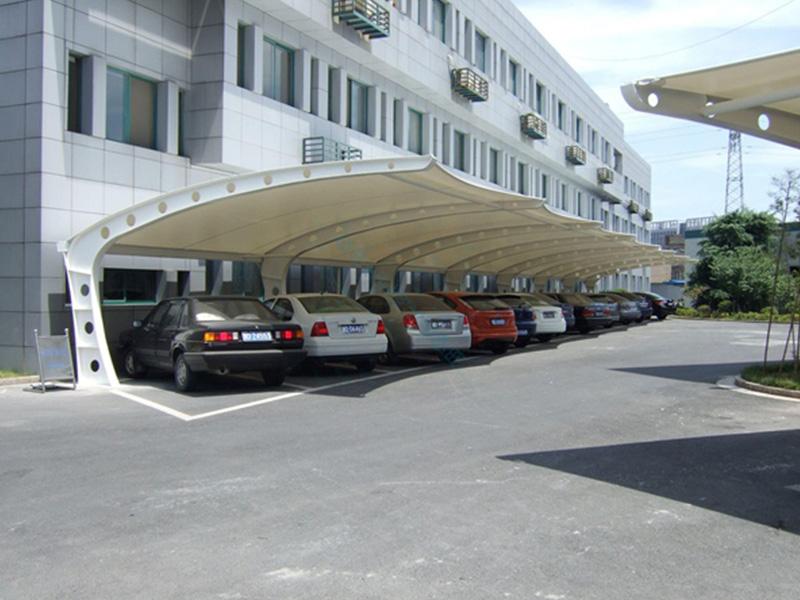 宝山膜结构停车篷-上海膜结构停车篷厂家