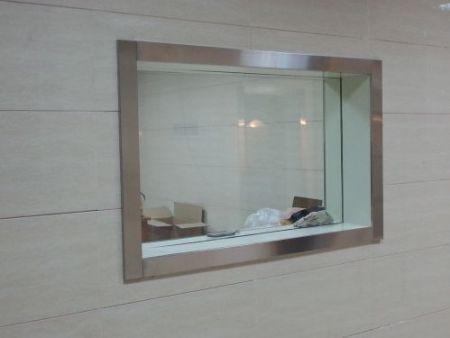 铅玻璃防护玻璃防辐射玻璃观察窗