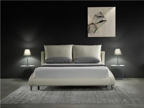 铜川布艺床-西安销量好的布艺床,认准米兰家居
