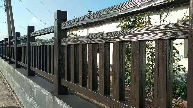 仿木围栏模具批发公司-河北质量好的仿木围栏模具批销