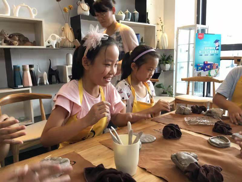 儿童手工陶艺DIY加盟市场平台-山东儿童手工陶艺DIY加盟-创业无忧
