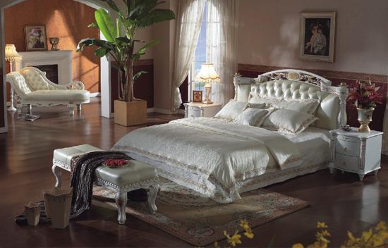 延安真皮软床生产厂家|买优良的皮床来米兰家居
