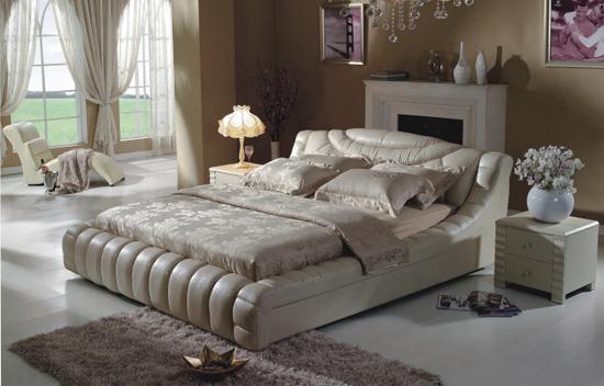 皮软床哪个牌子好-具有良好口碑的皮床多少钱