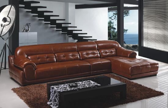 沙發批發-供應米蘭家居報價合理的皮沙發||