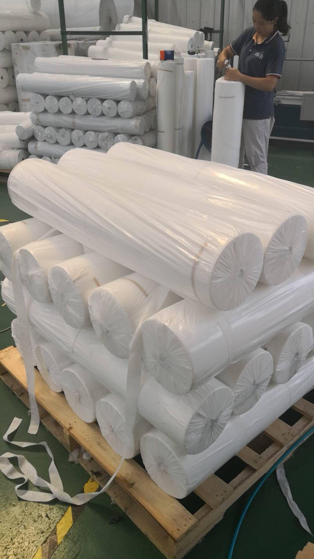 有品质的防水涂料专用布厂家_甘肃防水涂料专用布