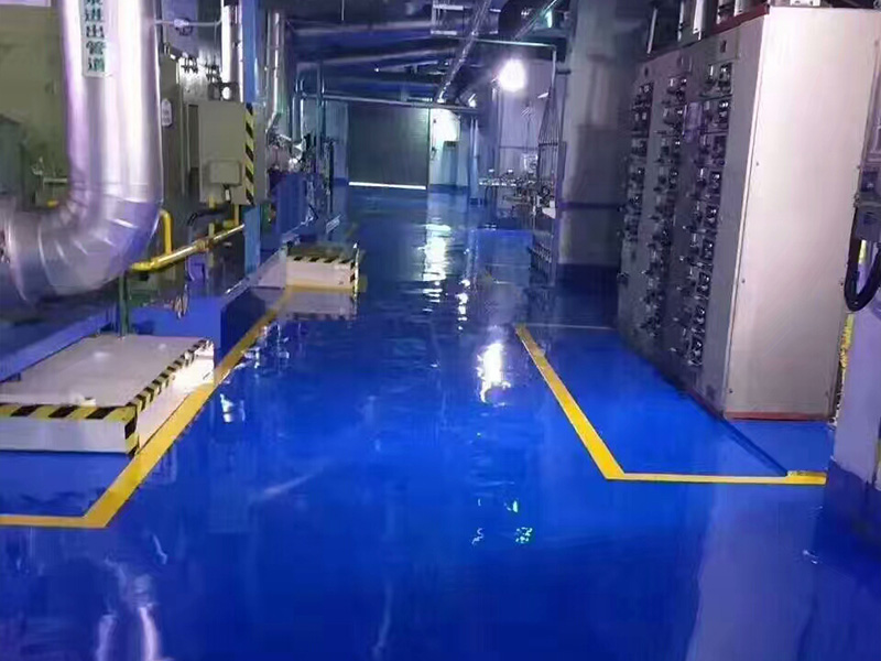 YF-环氧薄涂地坪施工-【供销】上海市优质的车间厂房地坪