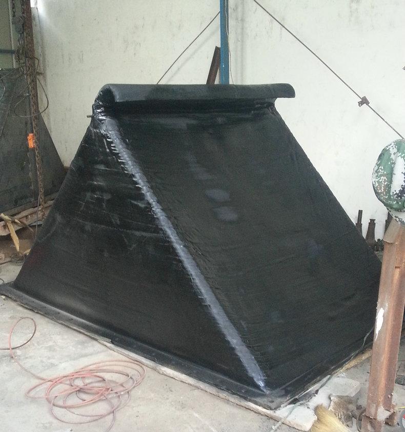 矩形排污橡膠止回閥-鄭州超好用的XF-F型方形法蘭式橡膠排污止回閥出售