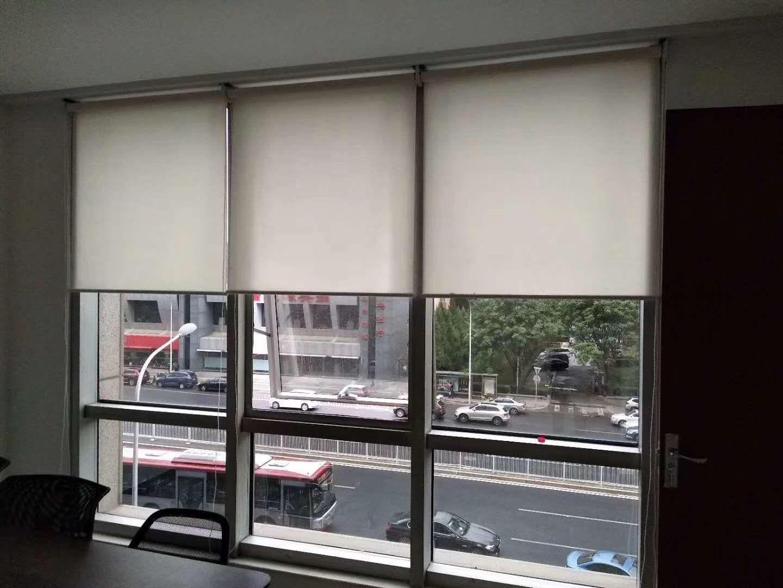 北京定做电动窗帘室内遮阳帘办公室遮阳帘自动遥控窗帘