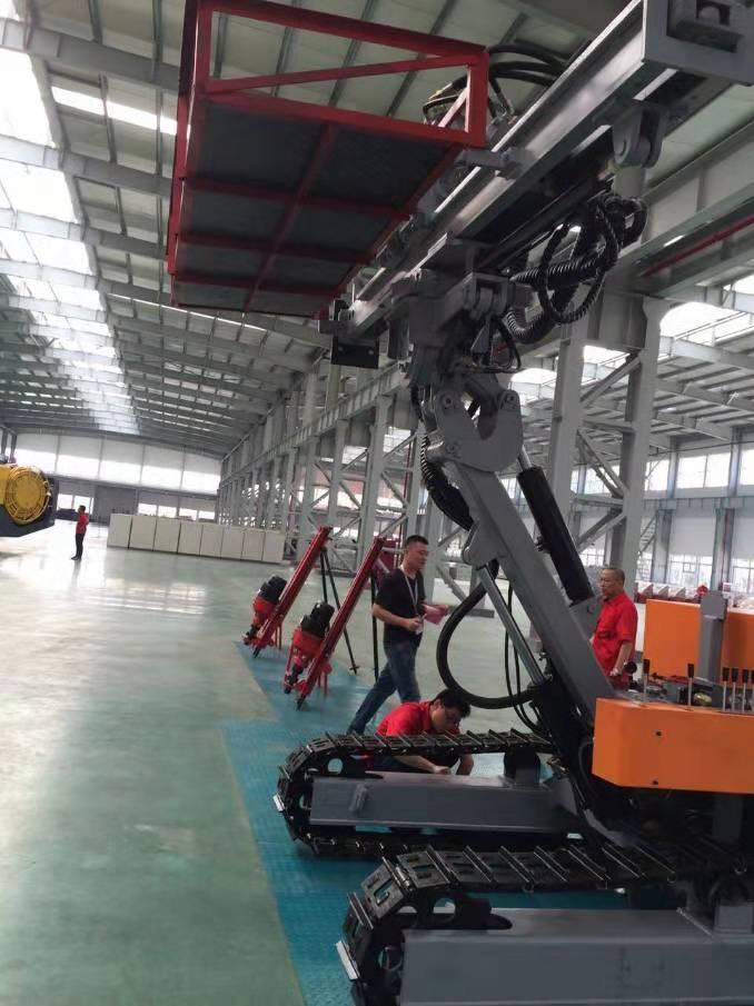 红五环HM20钻车凿护坡工程建筑工程履带式多功能钻机出厂价