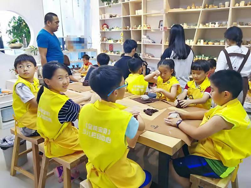 儿童创意手工-可信赖的儿童手工陶艺加盟哪里有