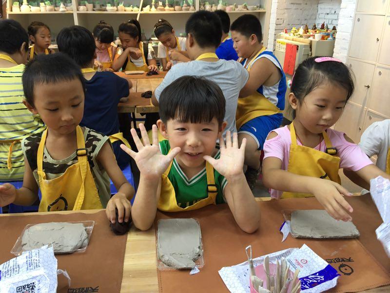 可信的陶吧加盟_想做儿童手工陶艺加盟找天物坊陶艺文化