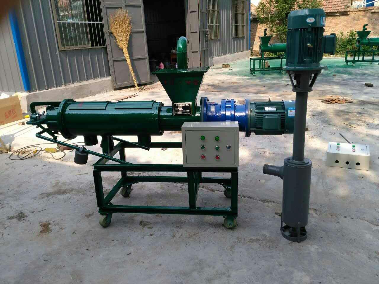 a固液分离机 养猪场猪粪干湿分离机 粪便脱水处理 挤粪机
