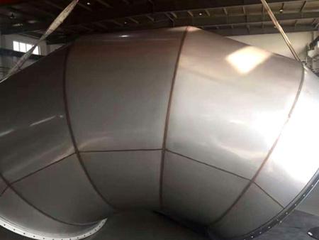 高质量不锈钢风管推荐_余姚角铁法兰风管定制