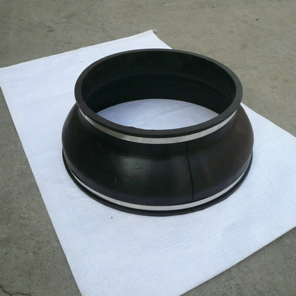 耐油套接式橡胶软连接|具有性价比的JGD-KG型卡箍式橡胶接头在哪买