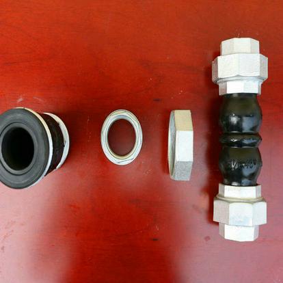 丝扣橡胶软连接批发-哪里能买到优惠的KSTL型油任橡胶接头不锈钢丝扣软连接