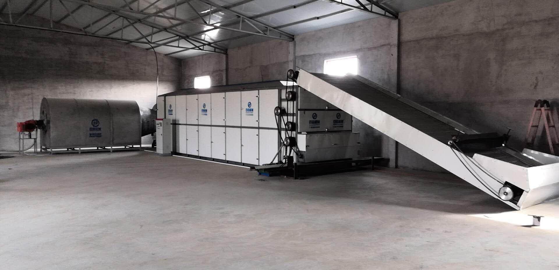 秸秆网带烘干机 多层连续式秸秆烘干机 大型秸秆带式干燥设备
