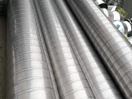劲瑞环保提供专业的不锈钢螺旋风管 北仑共板式法兰风管安装