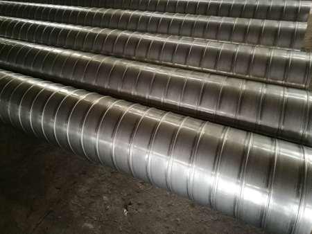 专业的不锈钢螺旋风管公司推荐-温州共板式法兰风管定制