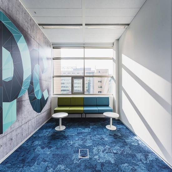 博柏利贸易公司办公室装修设计,办公室装修平面布局的艺术设计