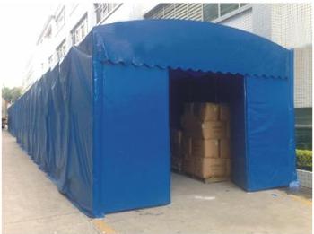 伸缩棚厂家-安装移动推拉篷优选上海科钛