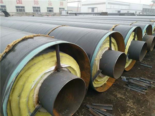 钢套钢直埋蒸汽保温钢管