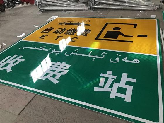 防城港標志牌桿-交通標識牌生產廠家價格多少