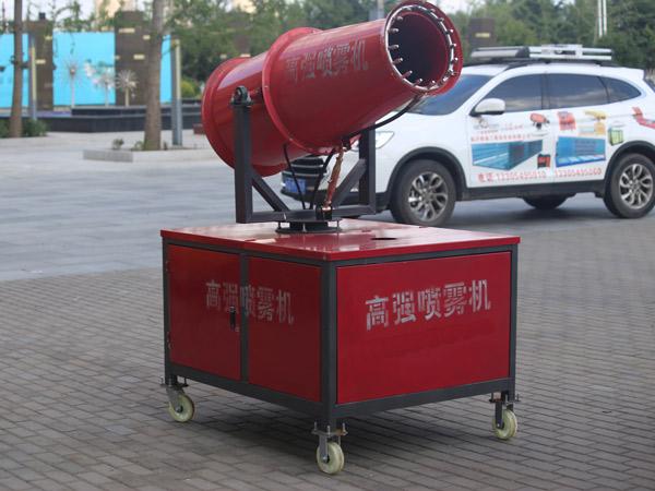 临沭强大商贸:工地降尘清洁好帮手——除尘喷雾机