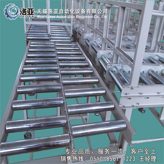 无锡洛亚自动化厂家生产各类优质无动力滚筒输送机传送带