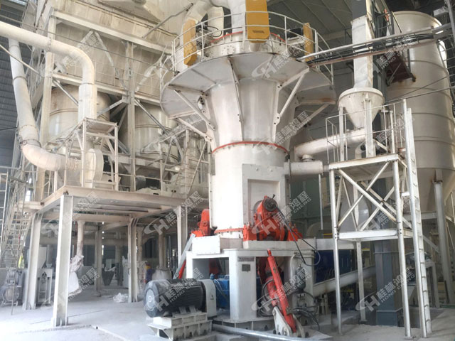 机矿渣粉立磨HLMX1300超细立式磨粉机大理石粉磨机