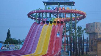 彩虹水滑梯哪家买 沈水公园彩虹滑梯 新闻