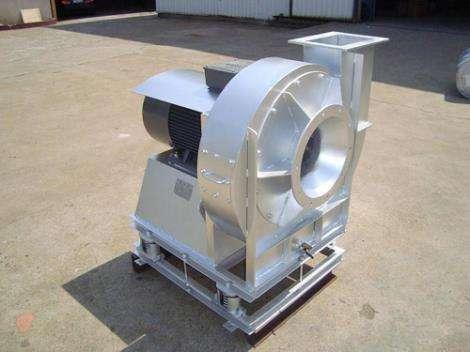 垃圾分离处理设备专用风机山东济风专业设计制作。