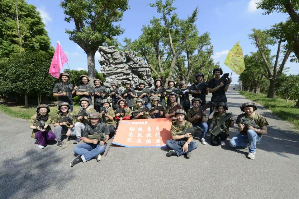 靠谱的企业军训上海攀越文化传播提供 长宁区企业军训
