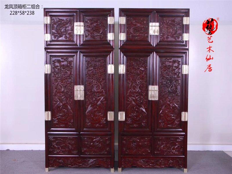 莆田红木衣柜哪家好_优惠的红木高低床